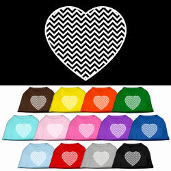 Chevron Heart Tank Top