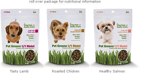 Pet Greens Semi-Moist Li'l Dog Treats