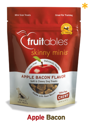 Fruitables Skinny Minis Chewy Dog Treat