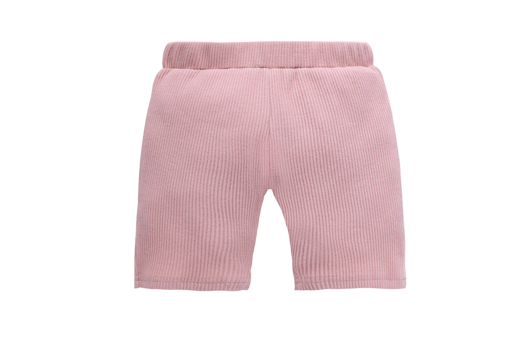 Hedley Pajamas in Pink Short Sleeve