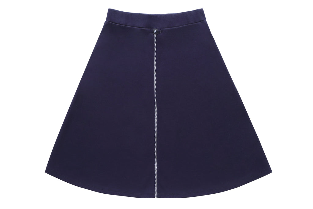 Online Exclusive: Teens' Navy Skirt