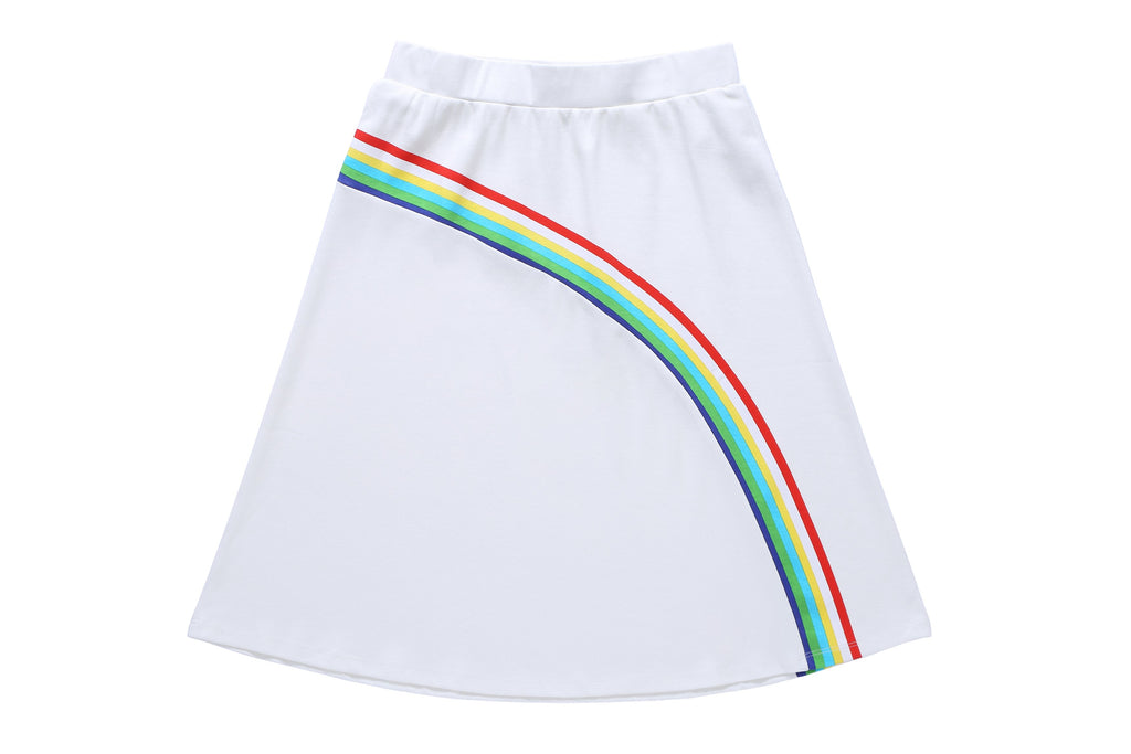 Teens' Skirt in Rainbow Print