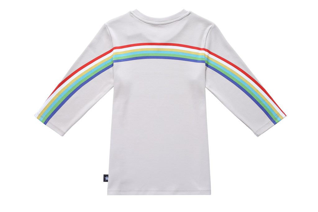 Teens' T-shirt in Rainbow Print