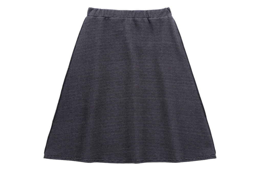 Teens' Outside Seams Skirt in Blue