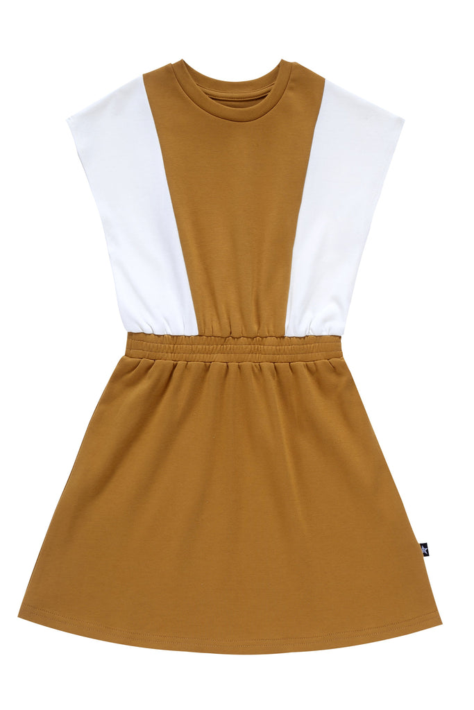 Girls' Dress in Cognac