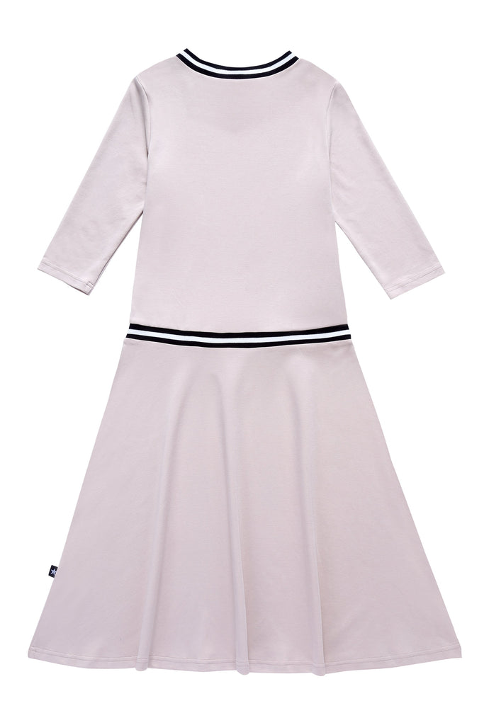Teens' Low-waisted Dress in Blush