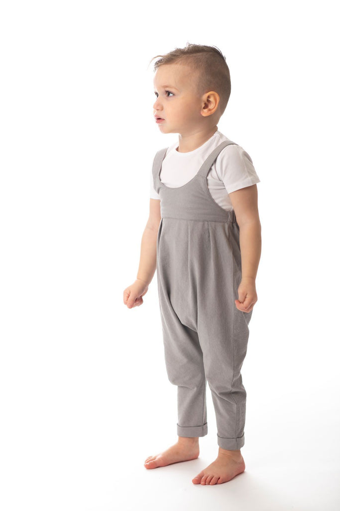 Baby  Romper in Grey