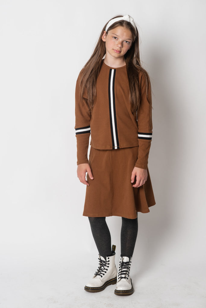 Girls Skirt Caramel