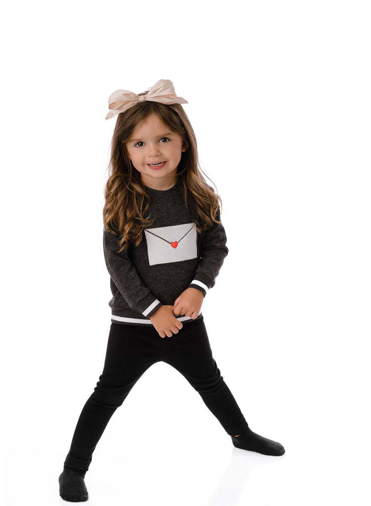 Baby Girls' Envelope Sweatshirt