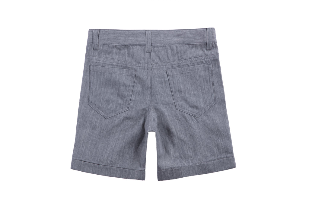 Boys shorts in Grey Wash