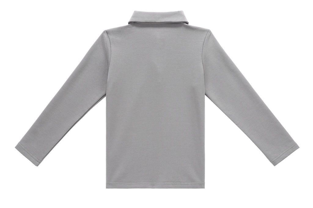 Boys' Polo in Grey