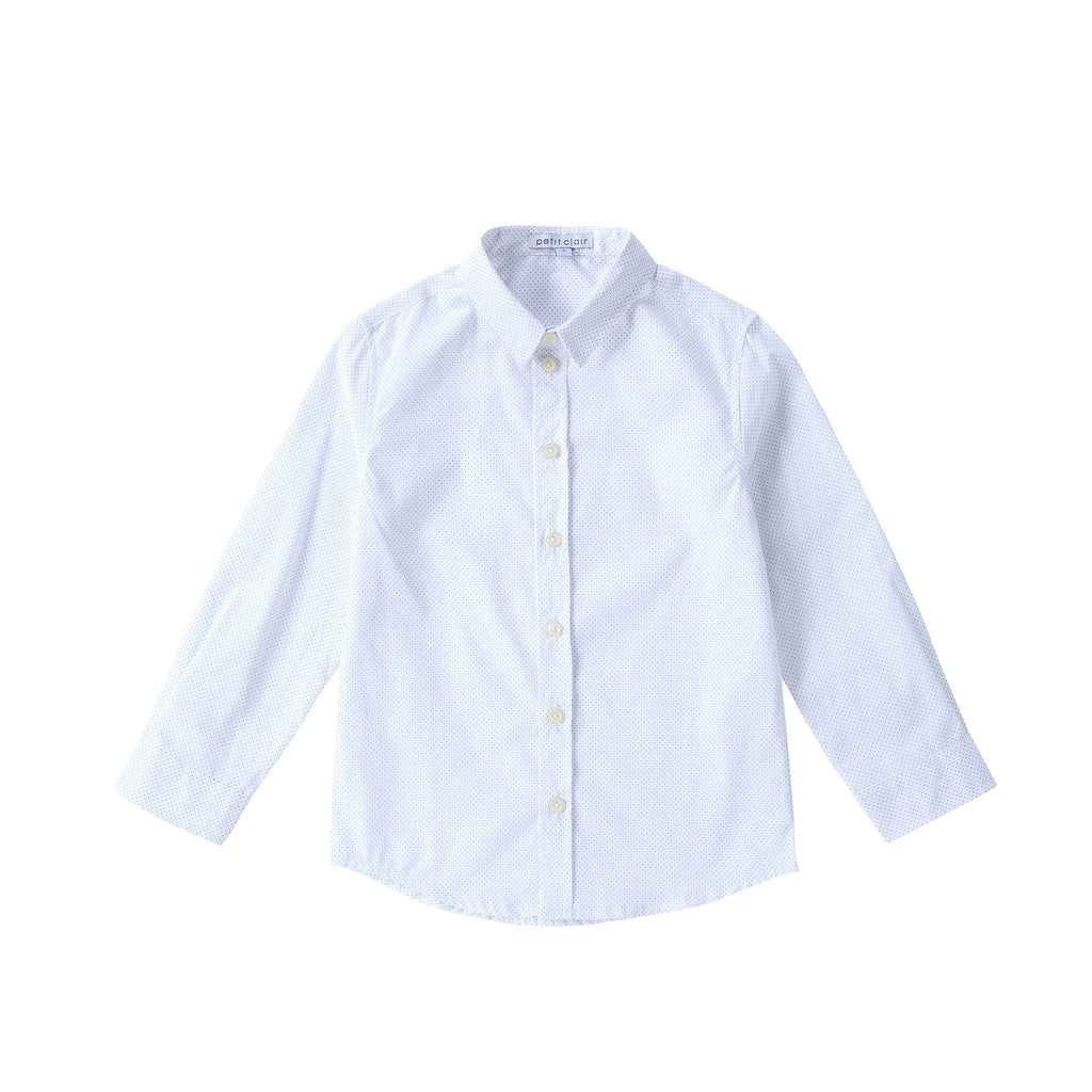 Boys Dot Print Shirt