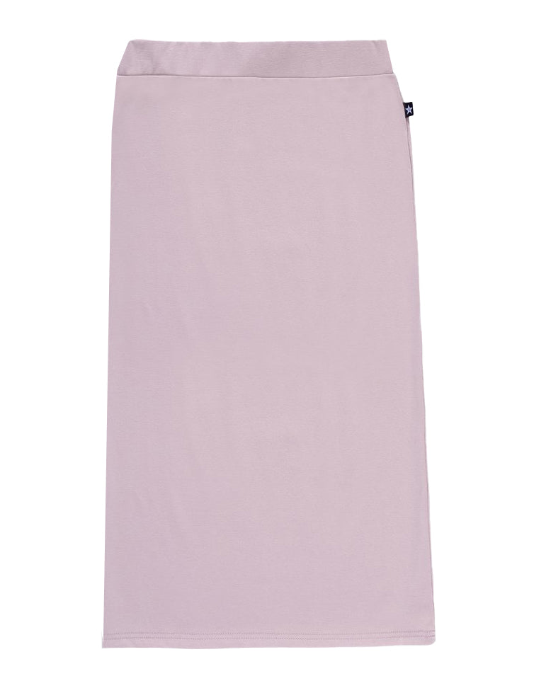 Teens' Midi Straight Skirt in Muave