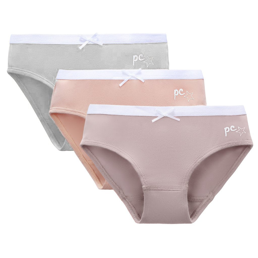 Girls Basic 3pc Panty