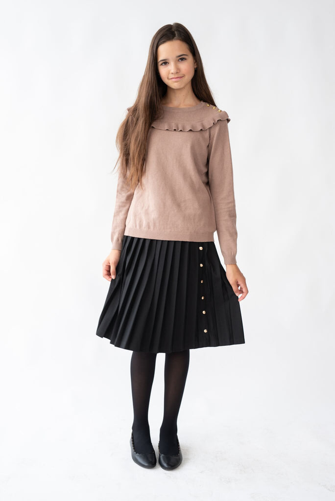 Girls Blush Sweater