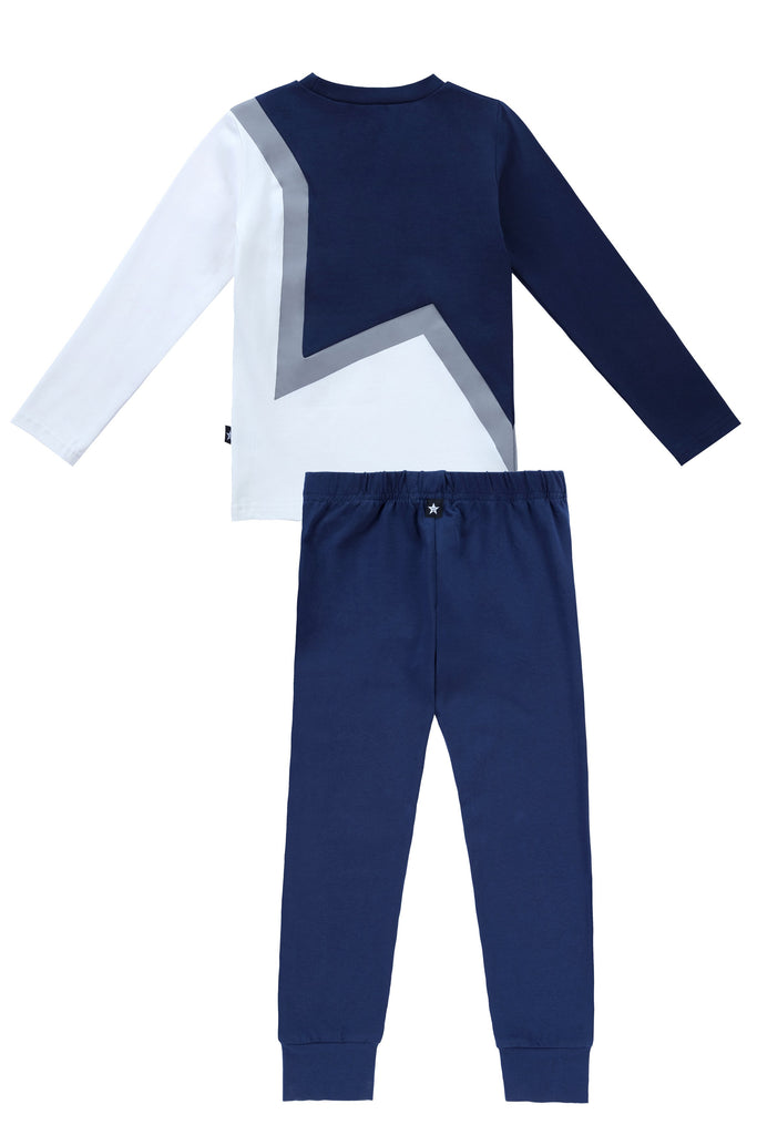 Star Pajamas in Navy