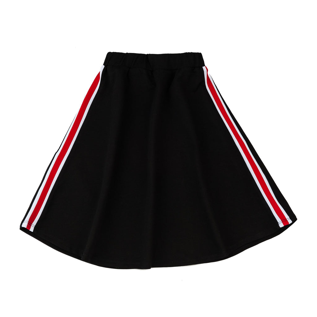 Girls Sport Stripe Skirt