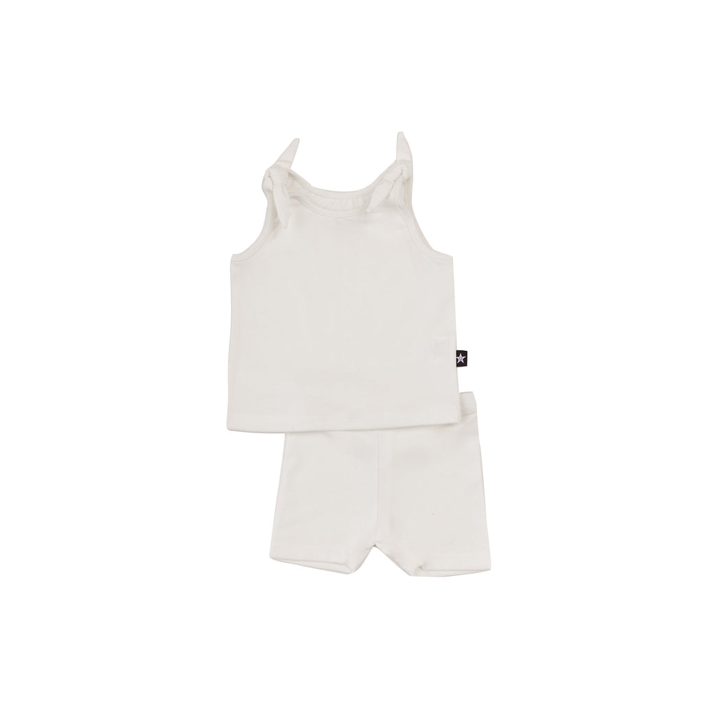 Baby Girl Basic Set in Ivory