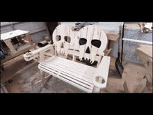 Load and play video in Gallery viewer, Skull Bench or Rocker Plans