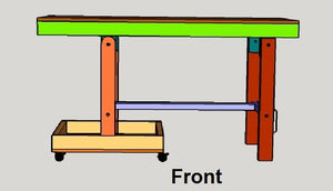 The Ultimate Folding Portable Miter Saw Station or Stand Plans