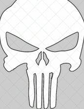 Load image into Gallery viewer, Full Size 24 in x 30 in Punisher Style Template