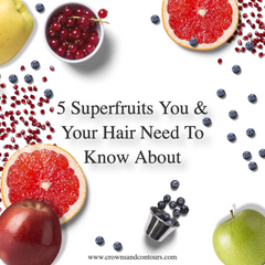 Super fruits Ingredients That are good for natural hair