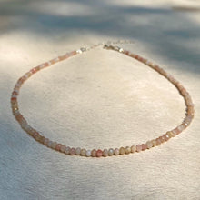 Load image into Gallery viewer, pink opal choker