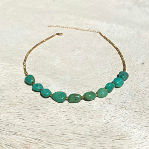 river choker (golden)