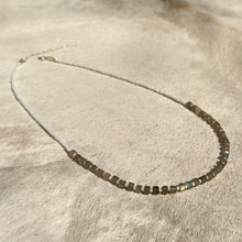 Load image into Gallery viewer, labradorite candy necklace