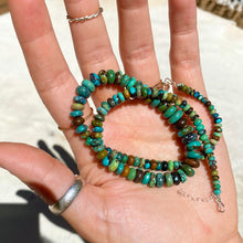Load image into Gallery viewer, magic turquoise necklace