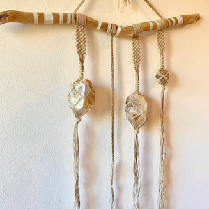 high vibe wall hanging (herkimer diamond)