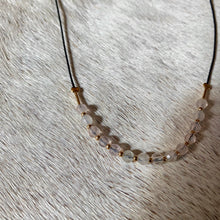 Load image into Gallery viewer, sayulita necklace (rose quartz)