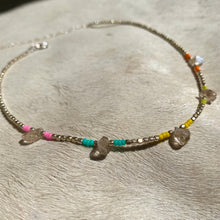 Load image into Gallery viewer, rainbow clarity choker (silver)