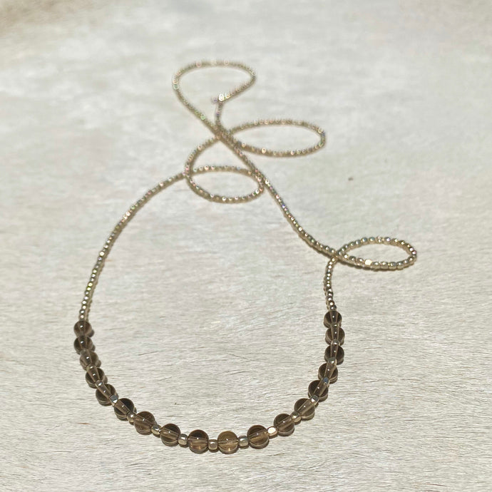 power necklace (silver)