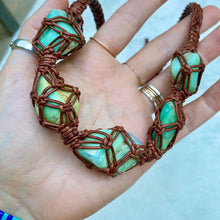 Load image into Gallery viewer, dissent collar (chrysoprase)