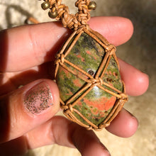Load image into Gallery viewer, unakite talisman