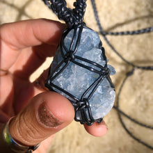 Load image into Gallery viewer, celestite talisman