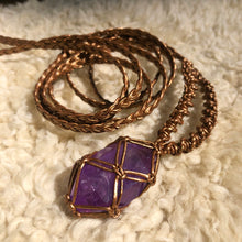 Load image into Gallery viewer, amethyst talisman