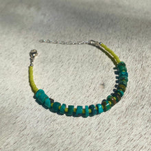 Load image into Gallery viewer, turquoise candy bracelet (lime)