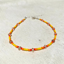 Load image into Gallery viewer, citrine anklet