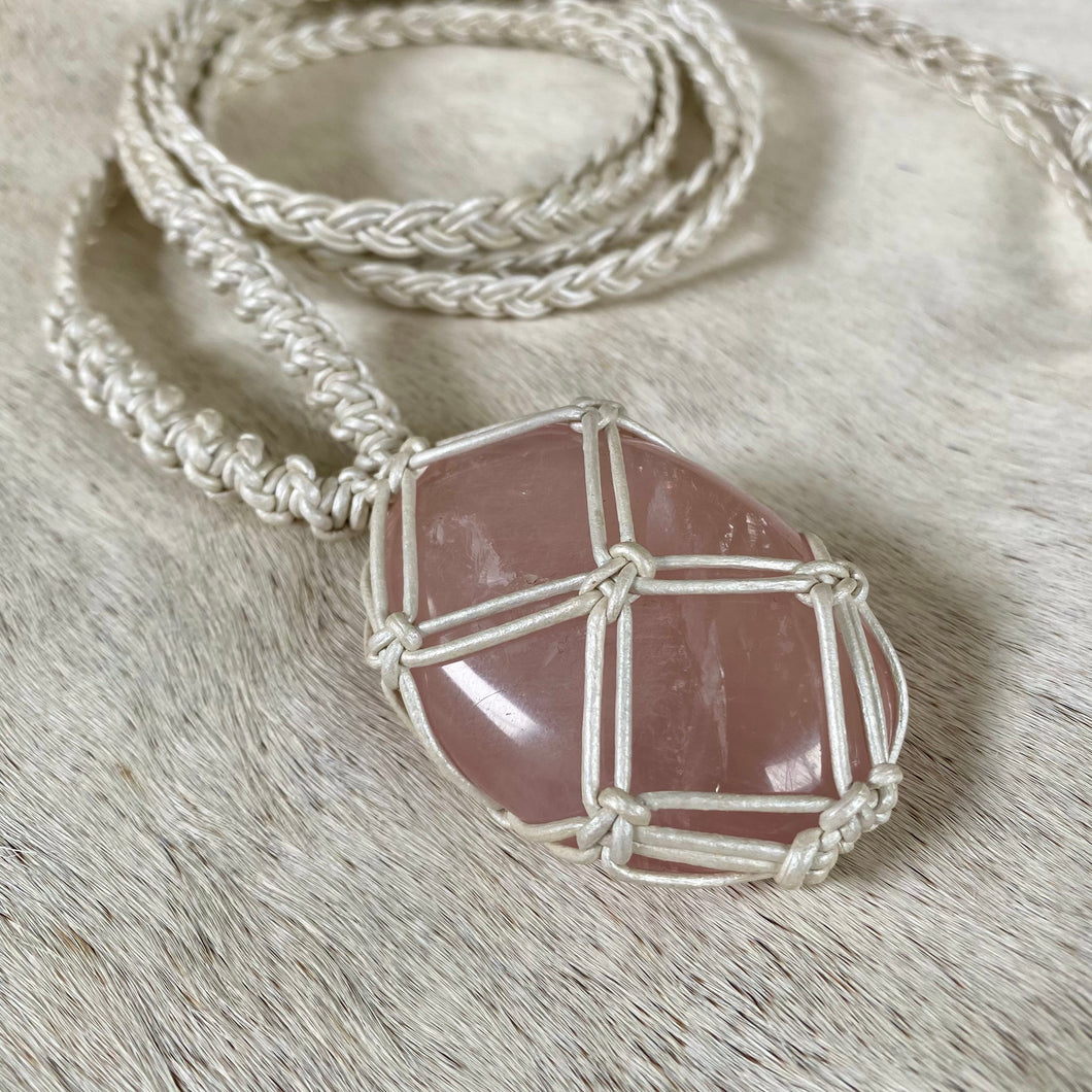 rose quartz talisman