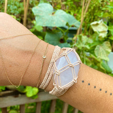 Load image into Gallery viewer, rose quartz wrap bracelet