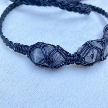 Load image into Gallery viewer, dissent collar (tourmalated quartz)