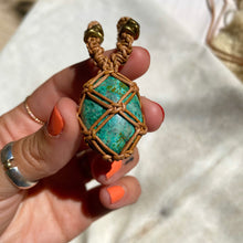 Load image into Gallery viewer, chrysocolla talisman