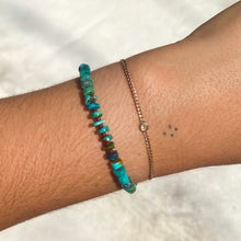 Load image into Gallery viewer, turquoise candy bracelet (rust)