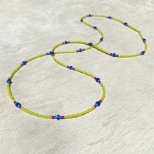 Load image into Gallery viewer, flow necklace (lapis)