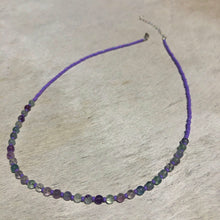 Load image into Gallery viewer, rainbow fluorite candy necklace