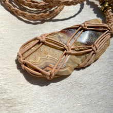 Load image into Gallery viewer, crazy lace agate talisman