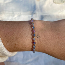 Load image into Gallery viewer, ethereal bracelet (rainbow fluorite)