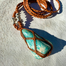 Load image into Gallery viewer, amazonite talisman